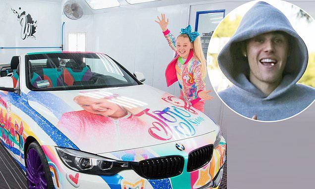 Justin Bieber Reaches Out to YouTube and Nickelodeon star JoJo Siwa After Shading Her Car