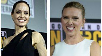 Scarlett Johansson praises Angelina Jolie's Marvel role